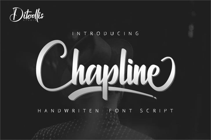 Chapline personal use only font英文script字体|otf/ttf格式